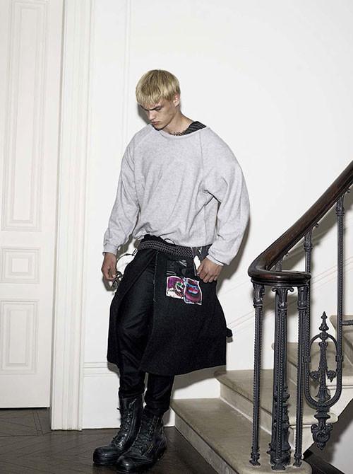 Filip Hrivnak for Vogue Italia