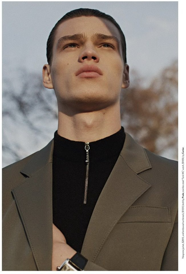 Filip Hrivnak for GQ Australia