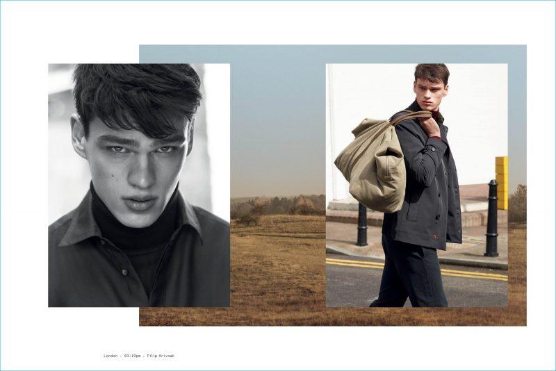 Filip Hrivnak for Peuterey F/W 2016 Campaign