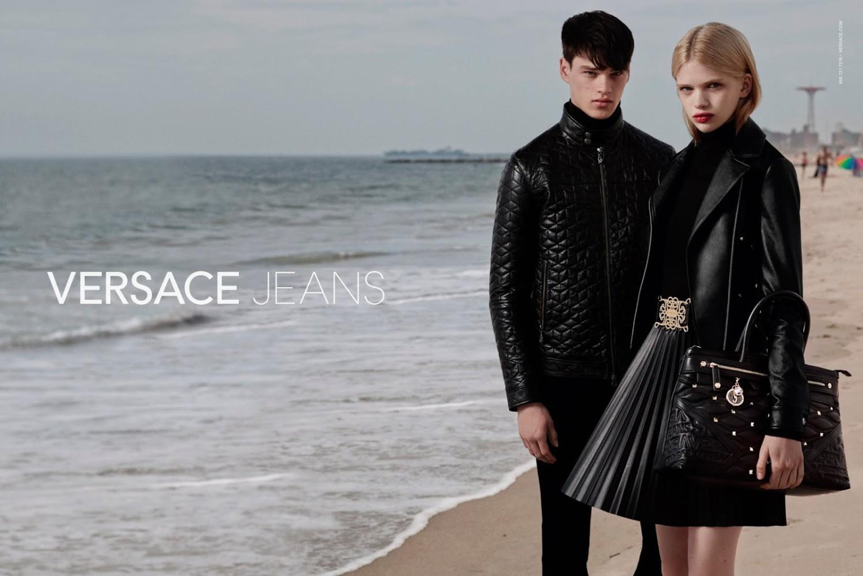 Filip Hrivnak for Versace Jeans F/W 2015 Campaign