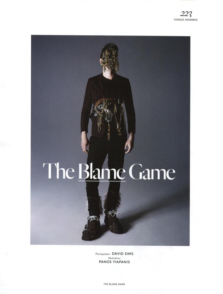 Filip Hrivnak for Vogue Hommes International SS15