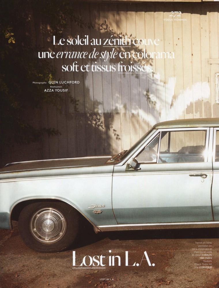 Filip Hrivnak for Vogue Hommes International