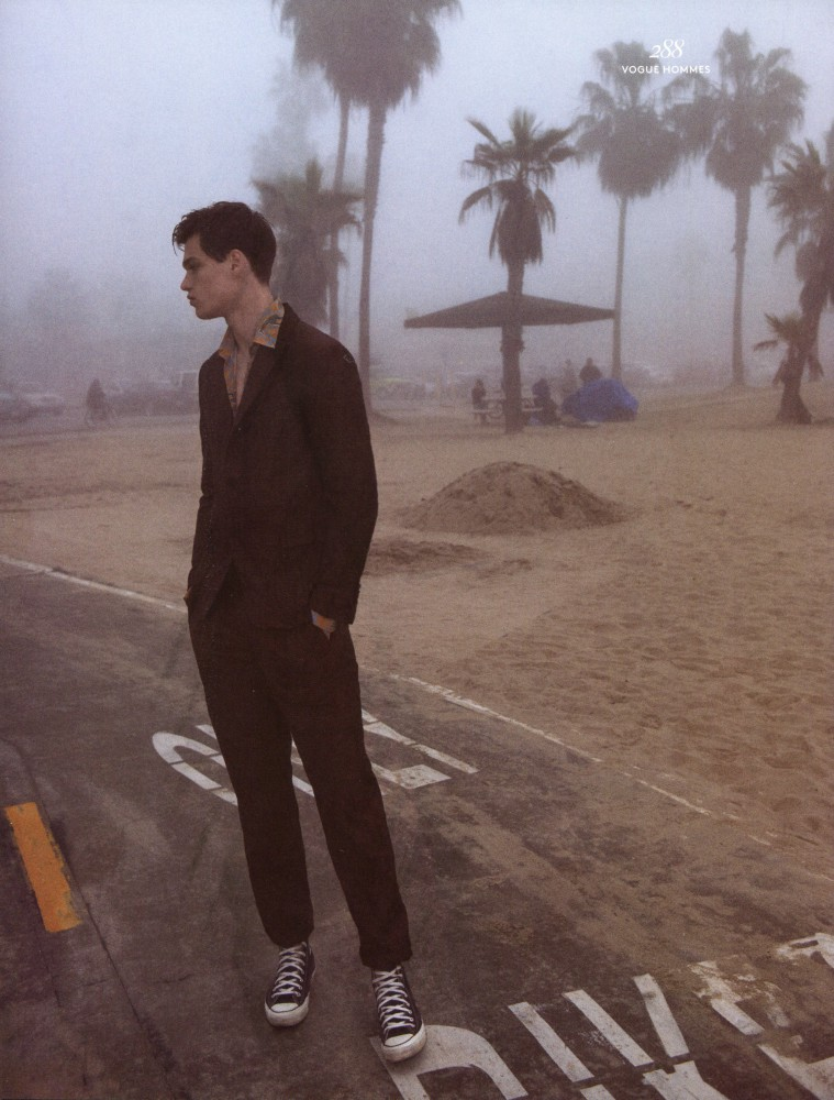 Filip Hrivnak for Vogue Hommes International