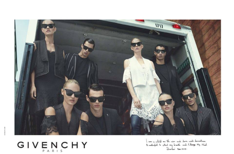 Filip Hrivnak for Givenchy SS16 Campaign