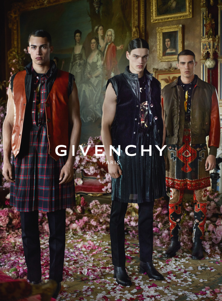 Filip Hrivnak for Givenchy FW15 Campaign