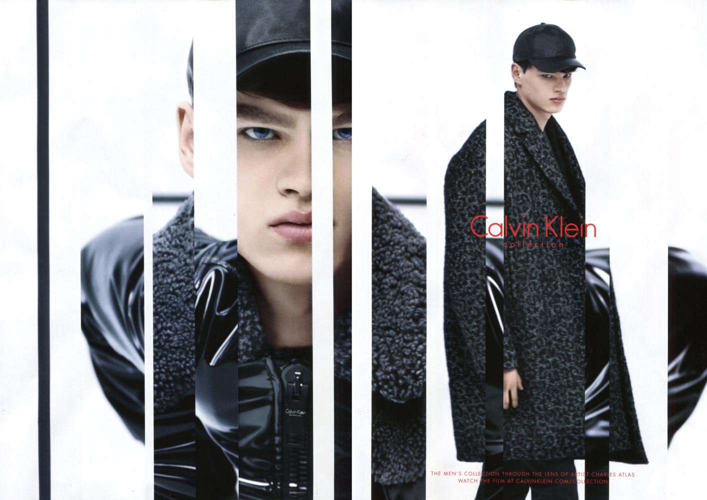Filip Hrivnak for Calvin Klein FW15 Campaign