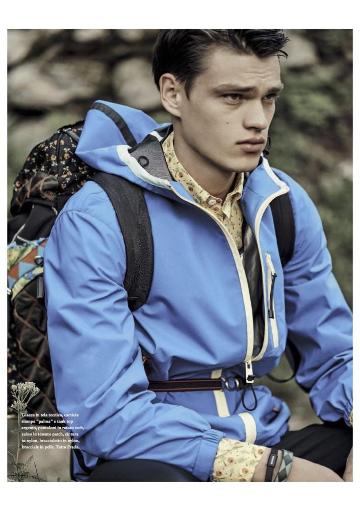 Filip Hrivnak for GQ Italia