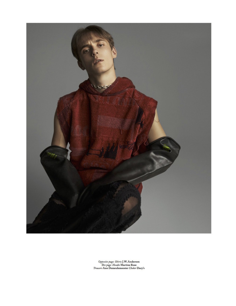 Gustaaf Wassink for Out Of Order Magazine