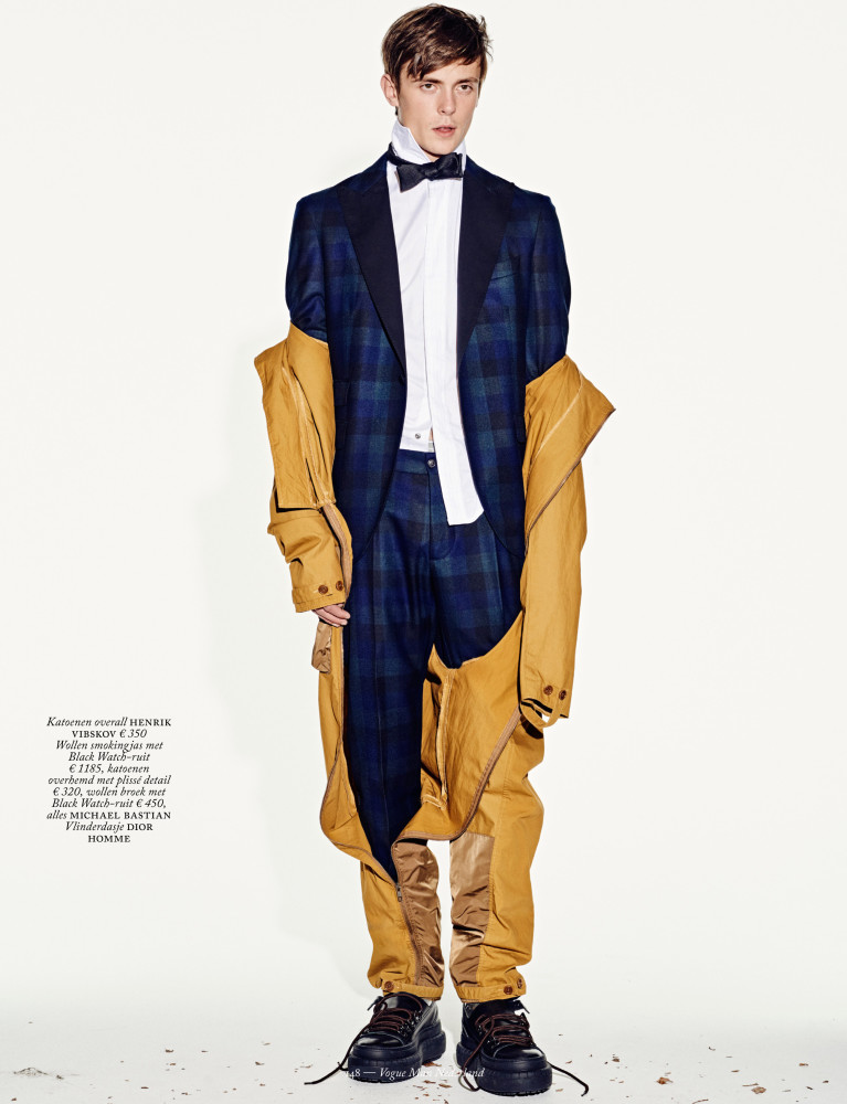 Gustaaf Wassink Covering VOGUE The Netherlands Man
