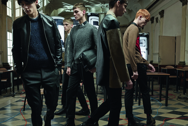 Gustaaf Wassink for DIOR Homme FW14