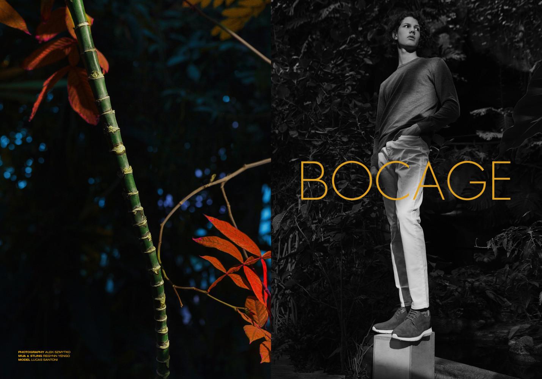 LUCAS SANTONI For BOCAGE SS17