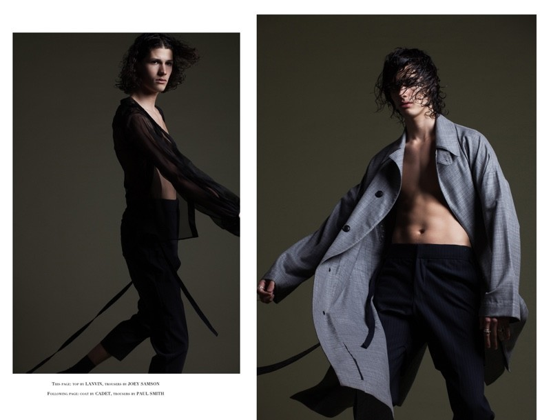 LUCAS SANTONI FOR THE FASHIONISTO