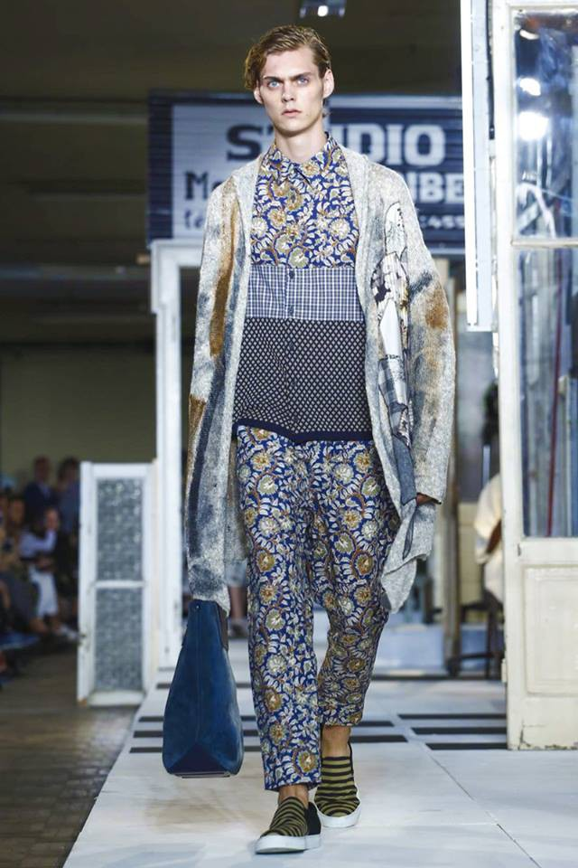 Mats Van Snippenberg for Antonio Marras MFWSS17