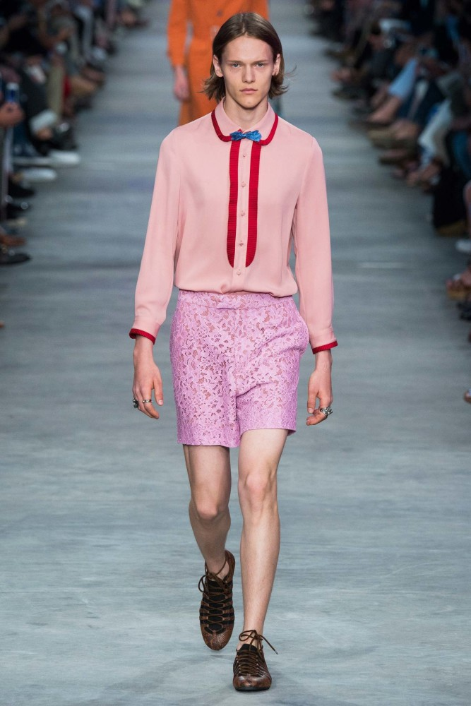 Ryan Keating for GUCCI SS16