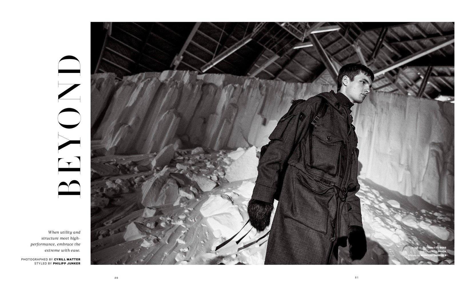 TOM COYSMAN FOR ESSENTIAL HOMME MAGAZINE
