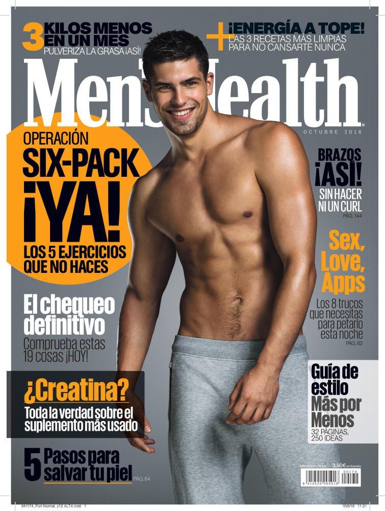 Miroslav Cech Covering Men's Health