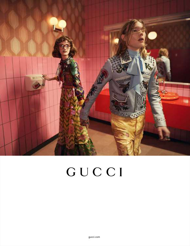 Anton, Arnis & Hugo for Gucci SS16 campaign