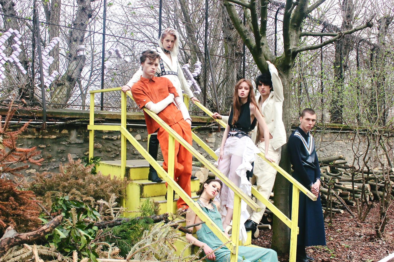 Léo Gardy, Matéo Picard, Tyna Tomanova & Maryan Lukaszczyk for Vanity Teen Girl