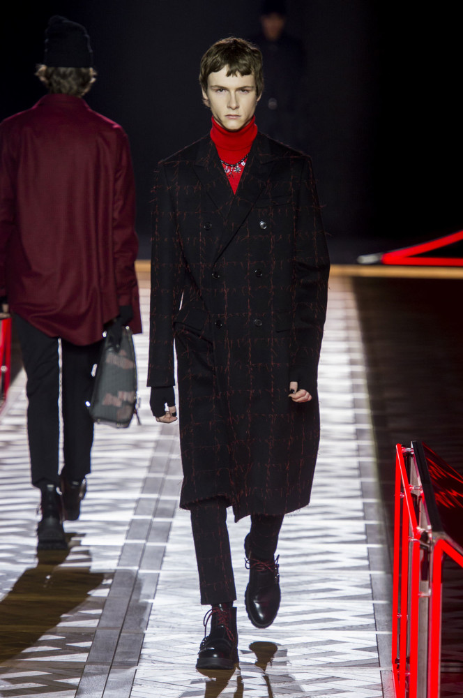 MARYAN LUKASZCZYK FOR DIOR HOMME FW16