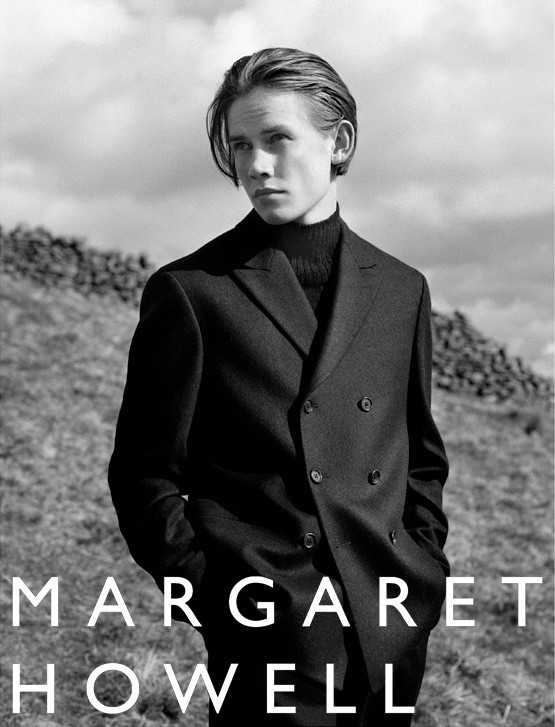 GUSTAV FOR MARGARET HOWELL FW16 CAMPAIGN