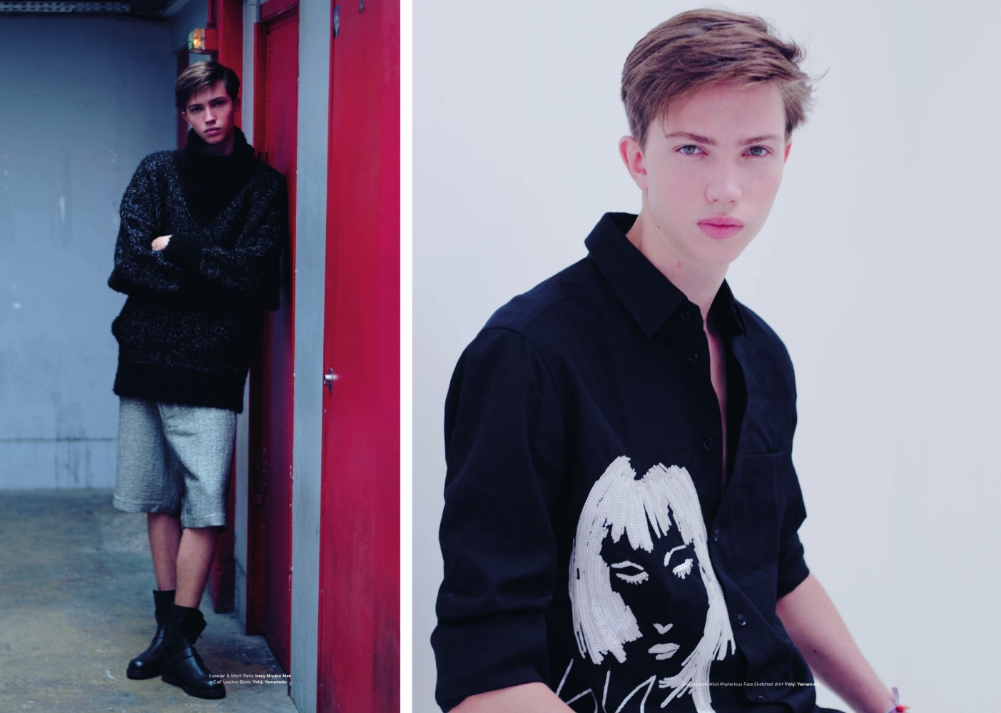 Gregoire, Timothée and Quentin for Vanity Teen Issue 9