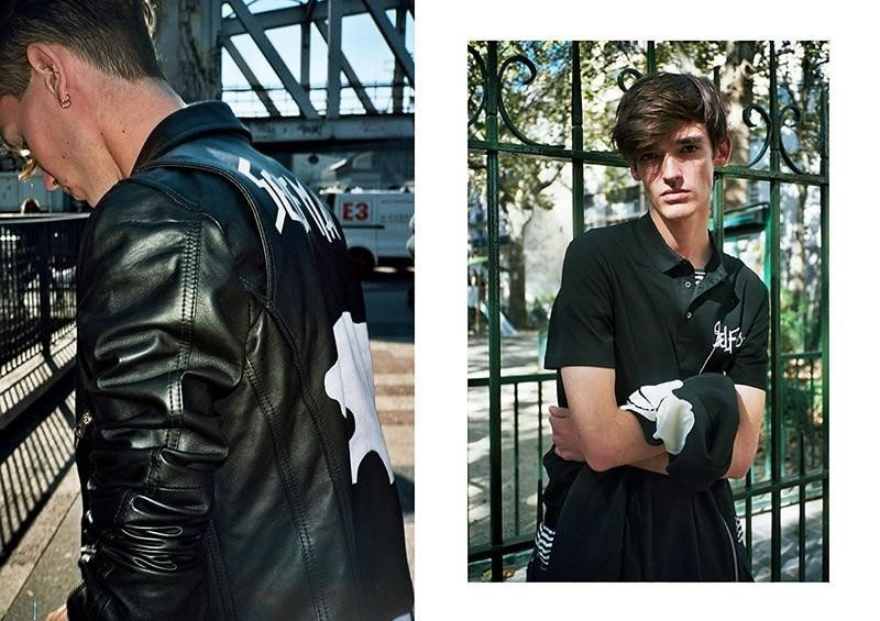 Florentin For i-D Vice Italy