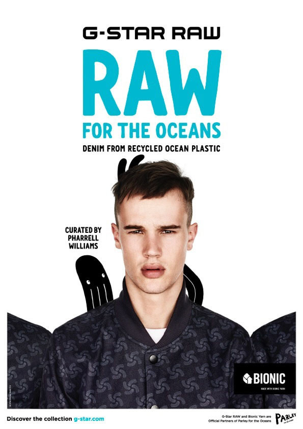 Brieu For G-Star Raw 'Raw for the Oceans' Campaign