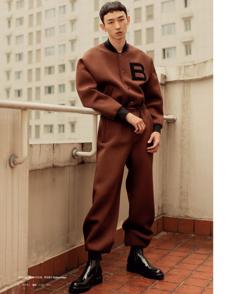 Tsubasa For Harper's Bazaar Magazine