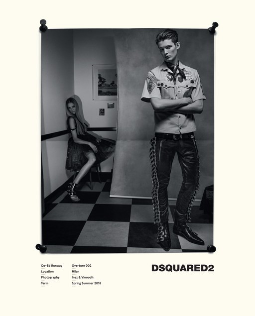 JOSE LUIS & TUUR  FOR DSQUARED2 SS18 CAMPAIGN