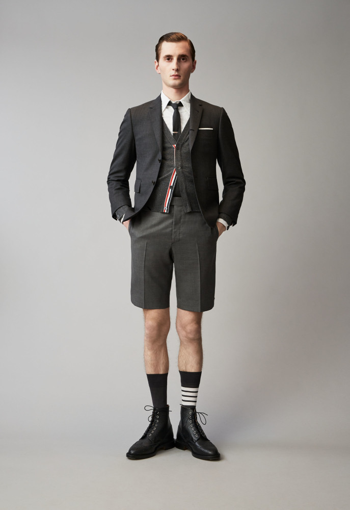 78a438921af THOMAS FOR THOM BROWNE LOOKBOOK | Metropolitan models agency