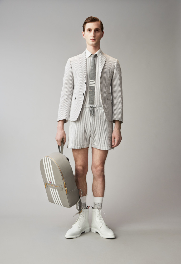 THOMAS FOR THOM BROWNE LOOKBOOK