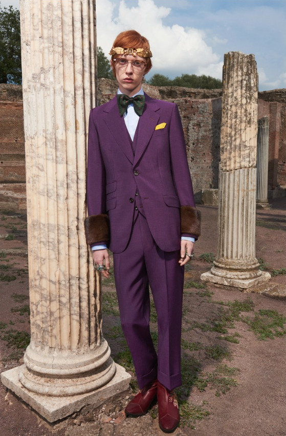 Oliver For Gucci Mens Cruise Collection 2018