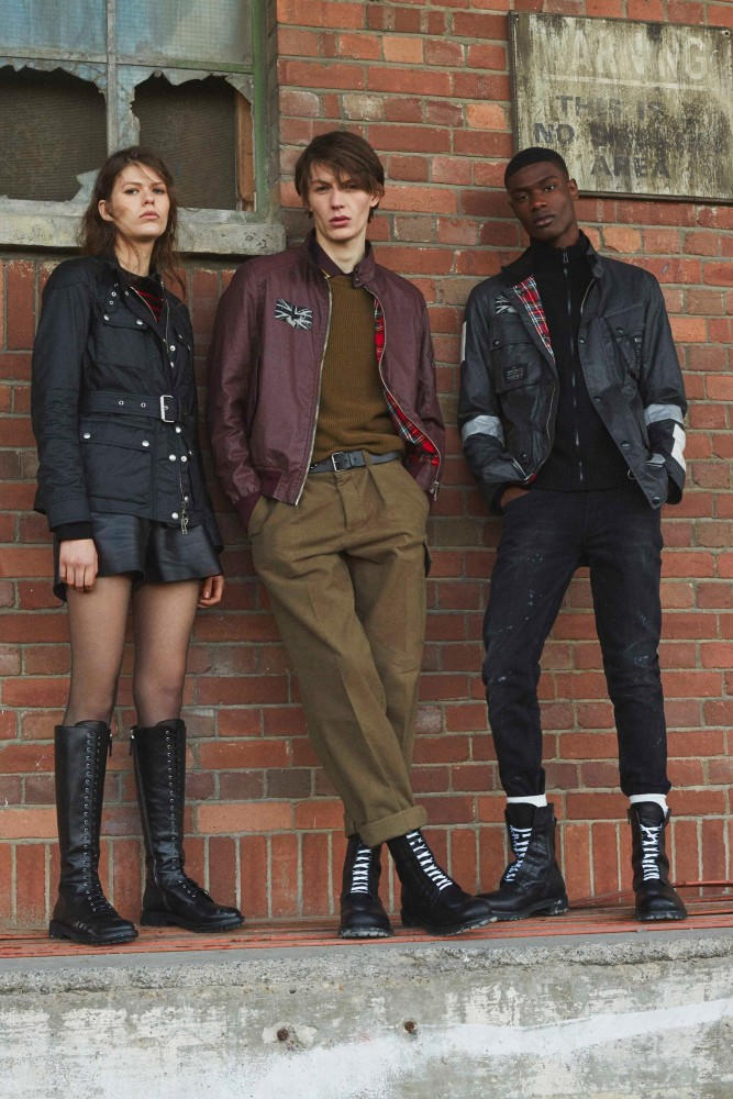 RACHIDE EMBALO FOR BELSTAFF FW18 LOOKBOOK