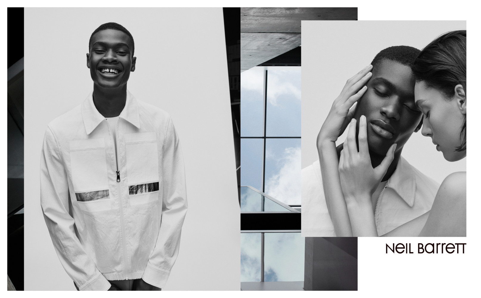 RACHIDE FOR NEIL BARRETT SS18 CAMPAIGN