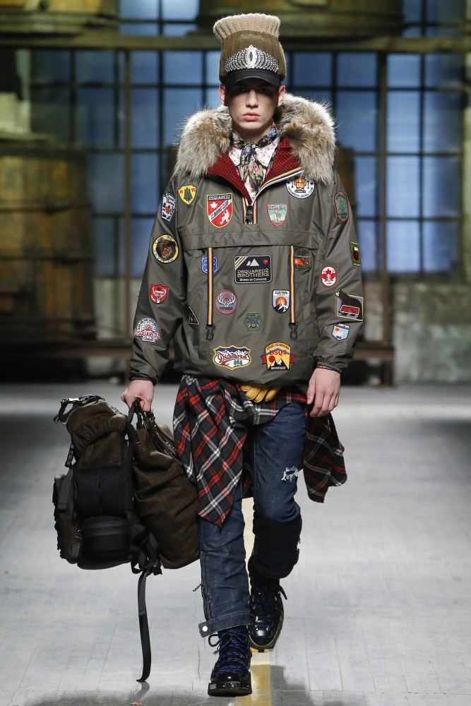 6 MBoys On DSQUARED2 FW17, Milan