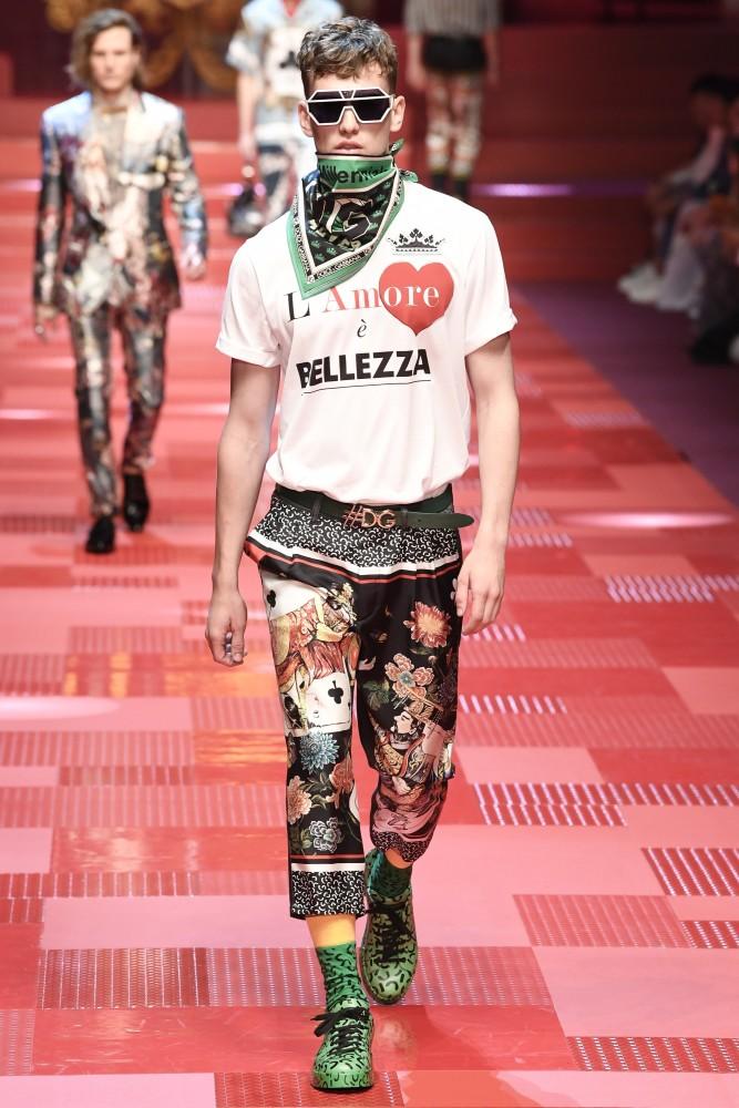 Jeon, Tuur & Sam H for Dolce & Gabbana SS18, Milan