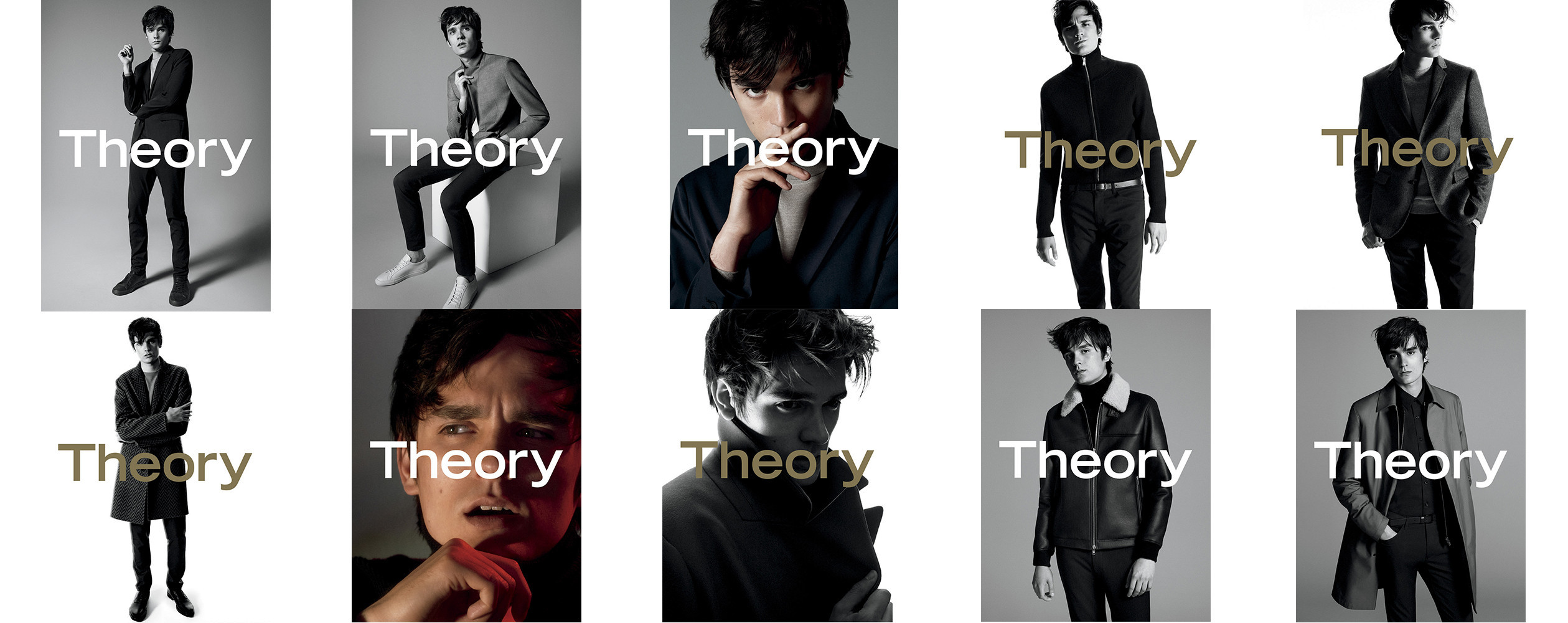 Alain-Fabien Delon Campaign Star of Theory FW2016