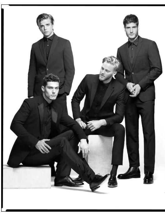 Filip & River SUPERMODELS On  VMAN