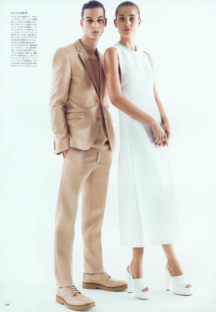Adrien Lesueur For VOGUE Japan
