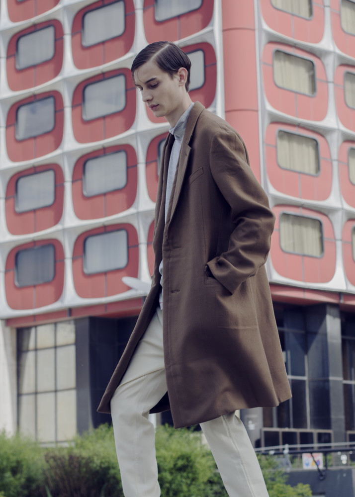 Adrien For ELLE MEN HK