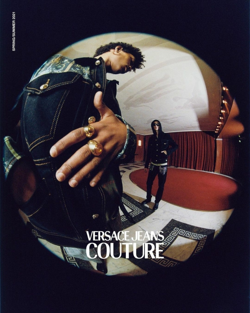 MATTHIAS For VERSACE JEANS COUTURE SS21 CAMPAIGN
