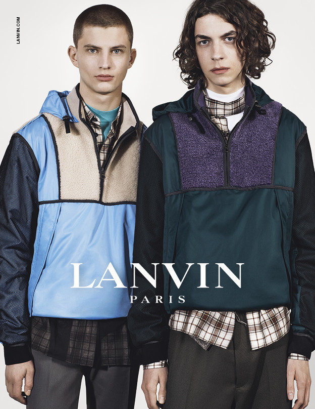 OLEG FOR LANVIN FW17 CAMPAIGN