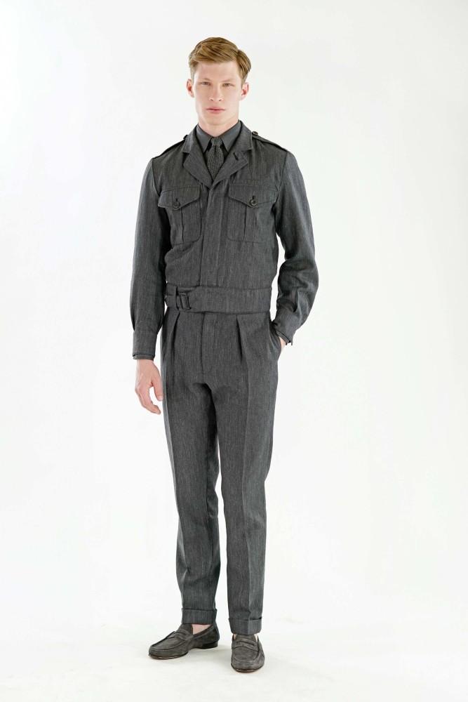 Jordan & Jarno for Ralph Lauren SS18, Milan