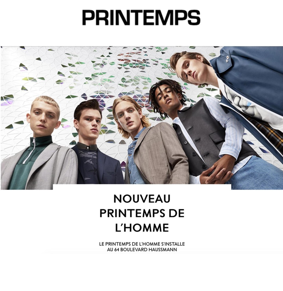 JELLE & FILIP For PRINTEMPS New  Campaign