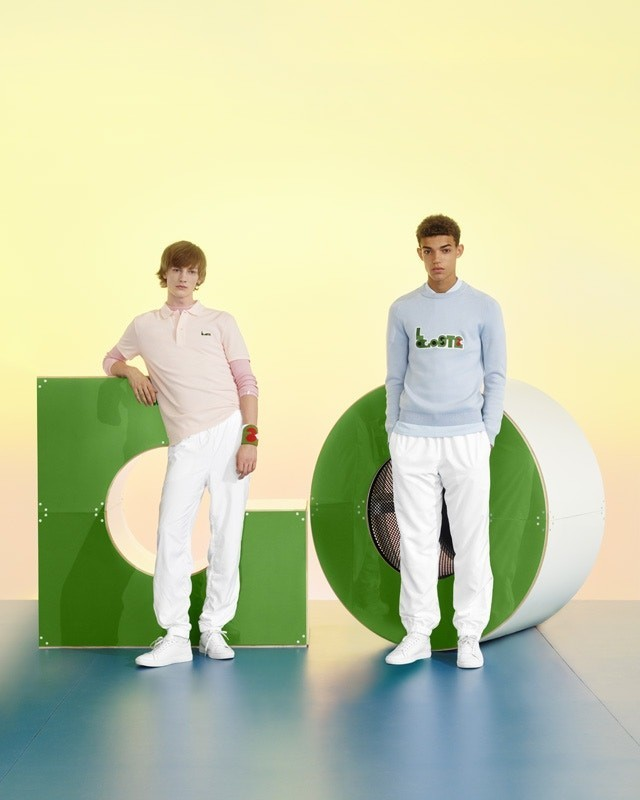 HONZA & TIMOTHEE FOR LACOSTE MM COLLECTION
