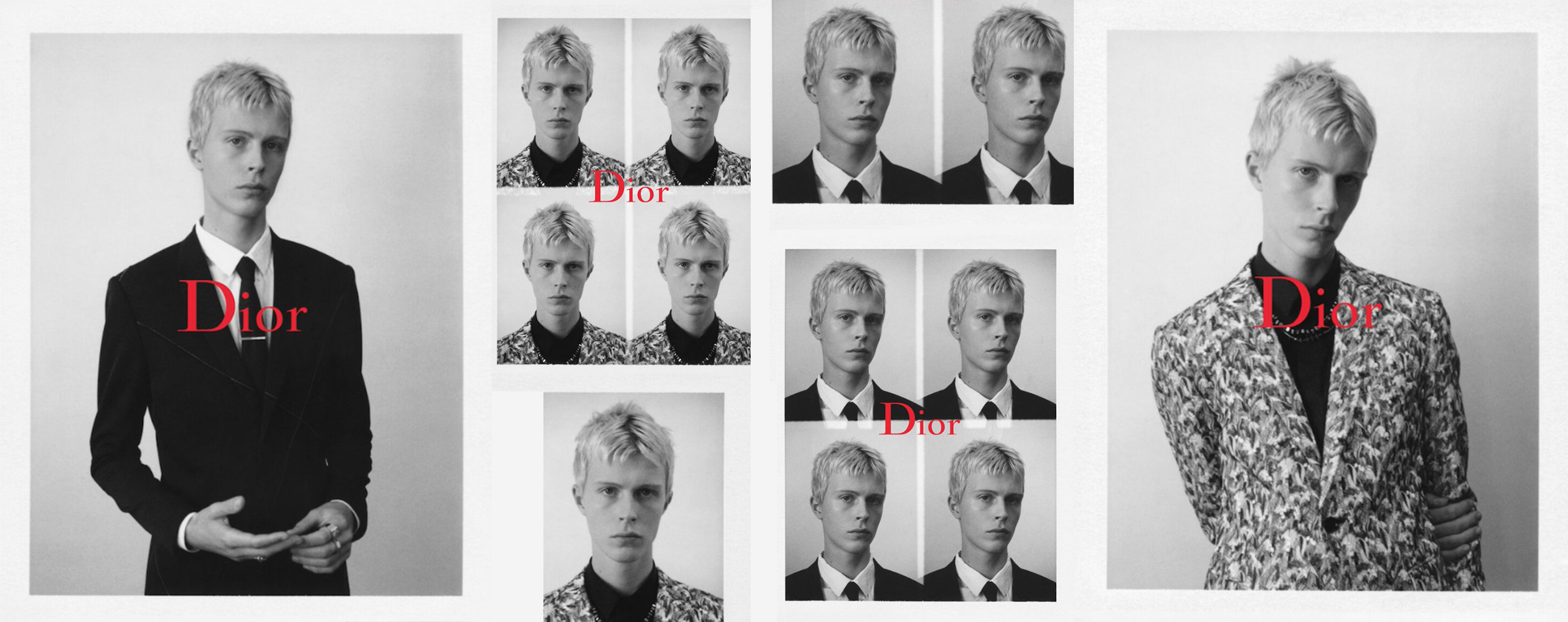 Dan Stewart for Dior Homme Black Carpet Capsule Collection