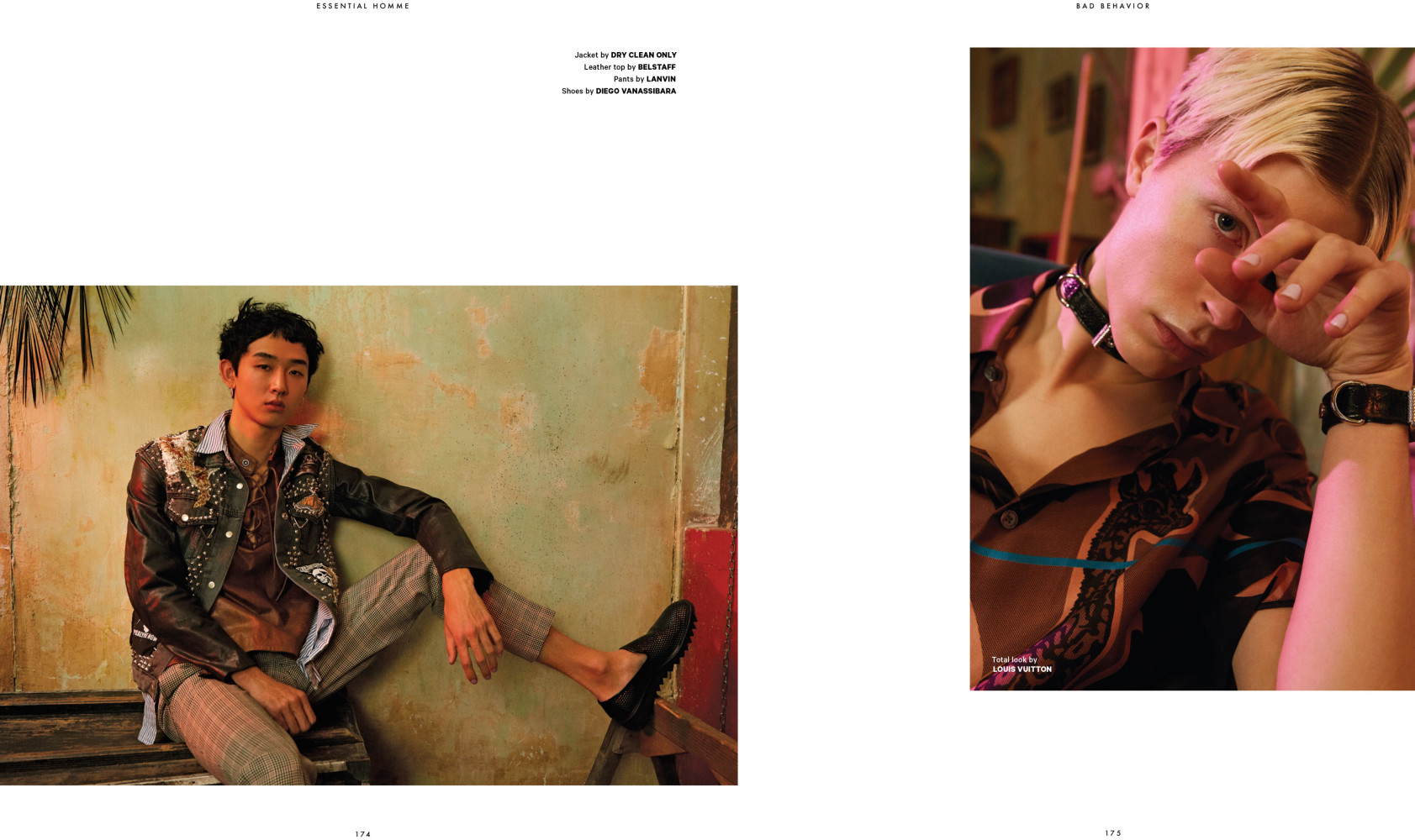 Dan & Tsubasa For Essentiel Homme Magazine