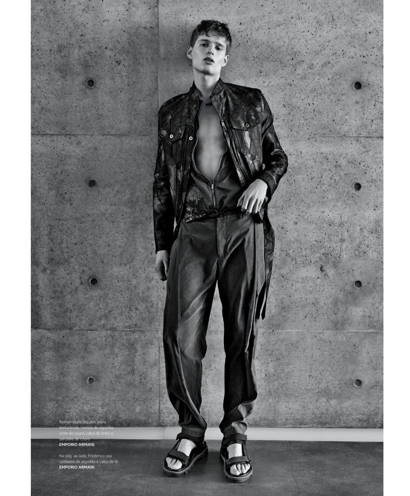 Bruti For L'Officiel Hommes Brasil