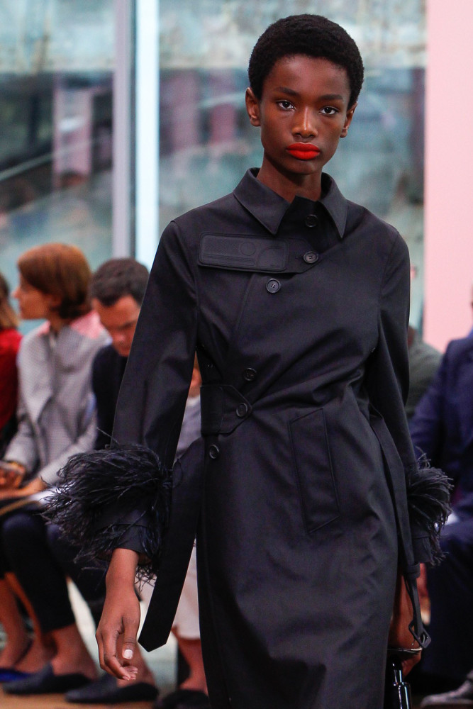 Beautiful Imari Karanja for Prada Resort 2018 Show