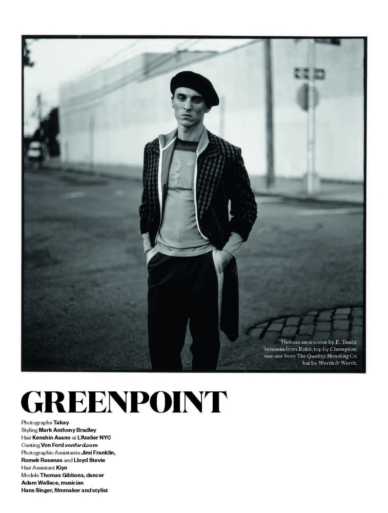 THOMAS FOR GREENPOINT